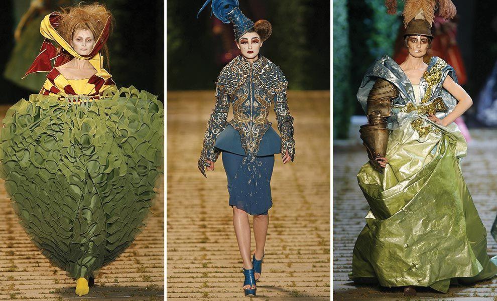 Dior haute couture raf simons prepares to follow john for Haute renaissance