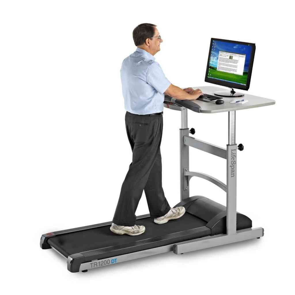 Standing Desk with Treadmill | L.I.H. 181 Standing Desk | Pinterest ...