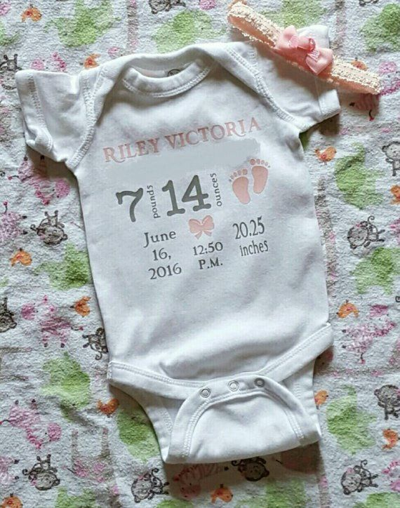 e1d5988f1 New baby birth announcement keepsake | Products | New baby products ...