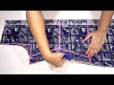 Front Open Slit Kurti cutting easy method - YouTube | cutting and ...