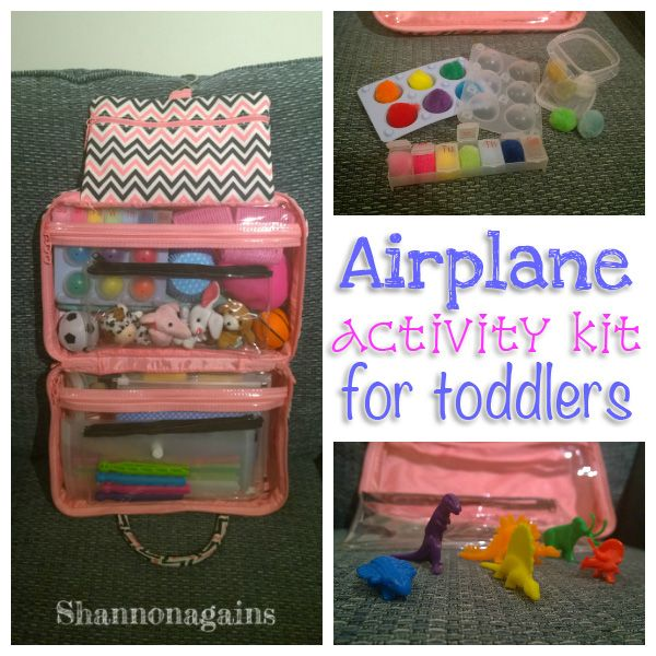 Airplane Activity Kit For Toddlers My Little Amzie