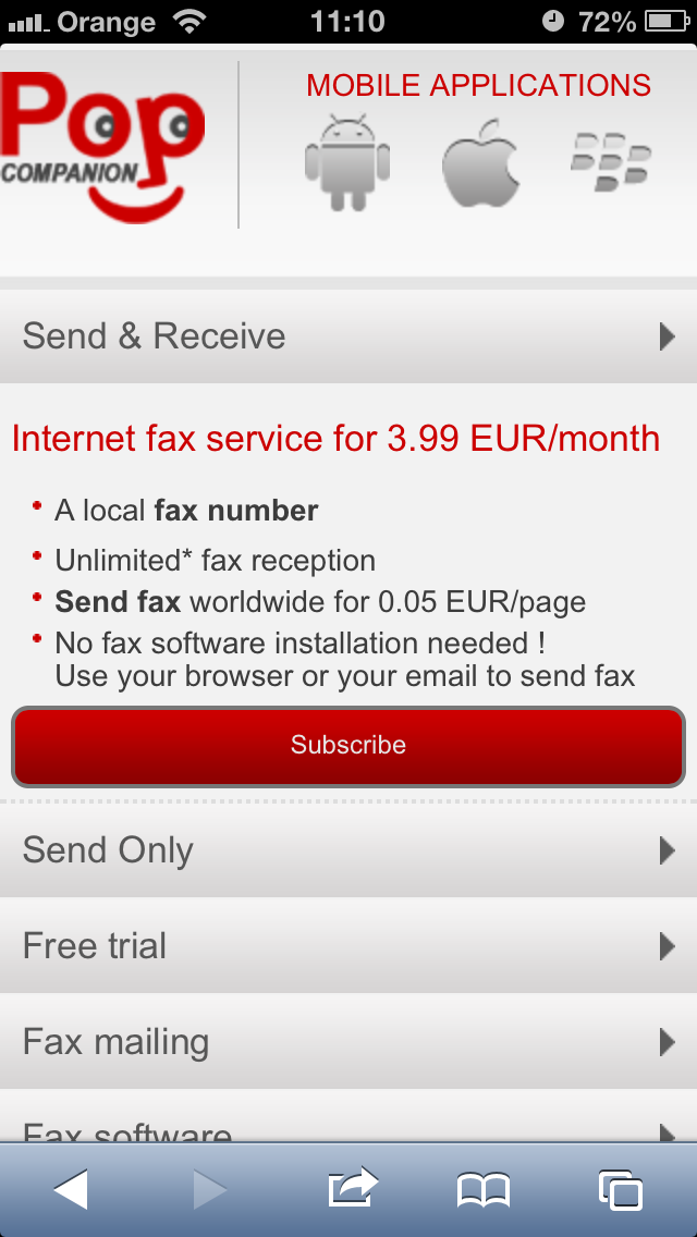 Send Fax Directly From Your Smartphone Android Iphone Or