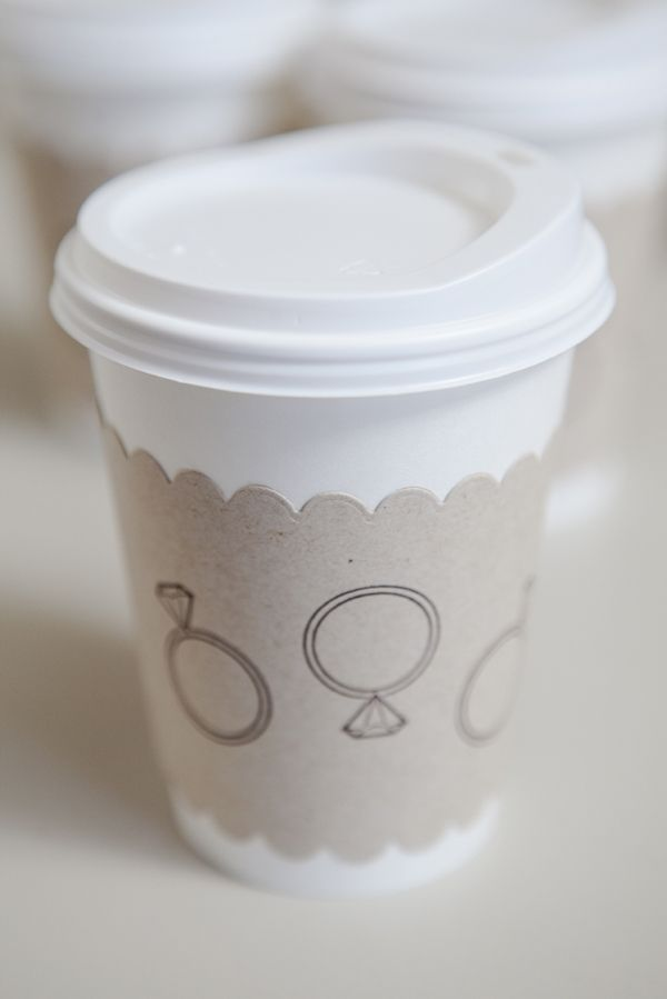 Diy Wedding How To Make Darling Personalized Coffee Cup Sleeves For Any Event