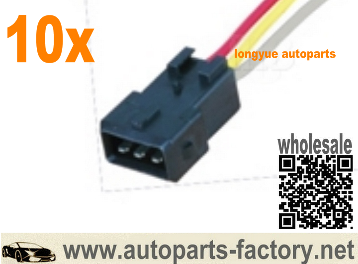 long yue 3 way JPT male connector pigtail wiring harness