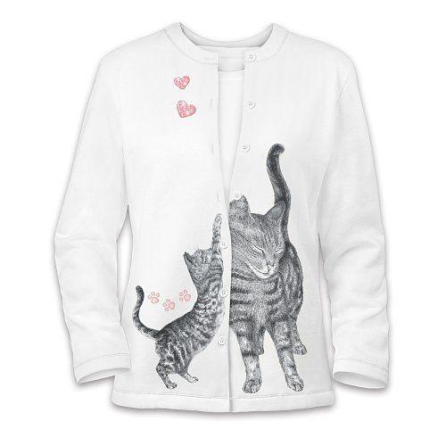 The Bradford Exchange Welcome Home Women S Cat Art Sweater