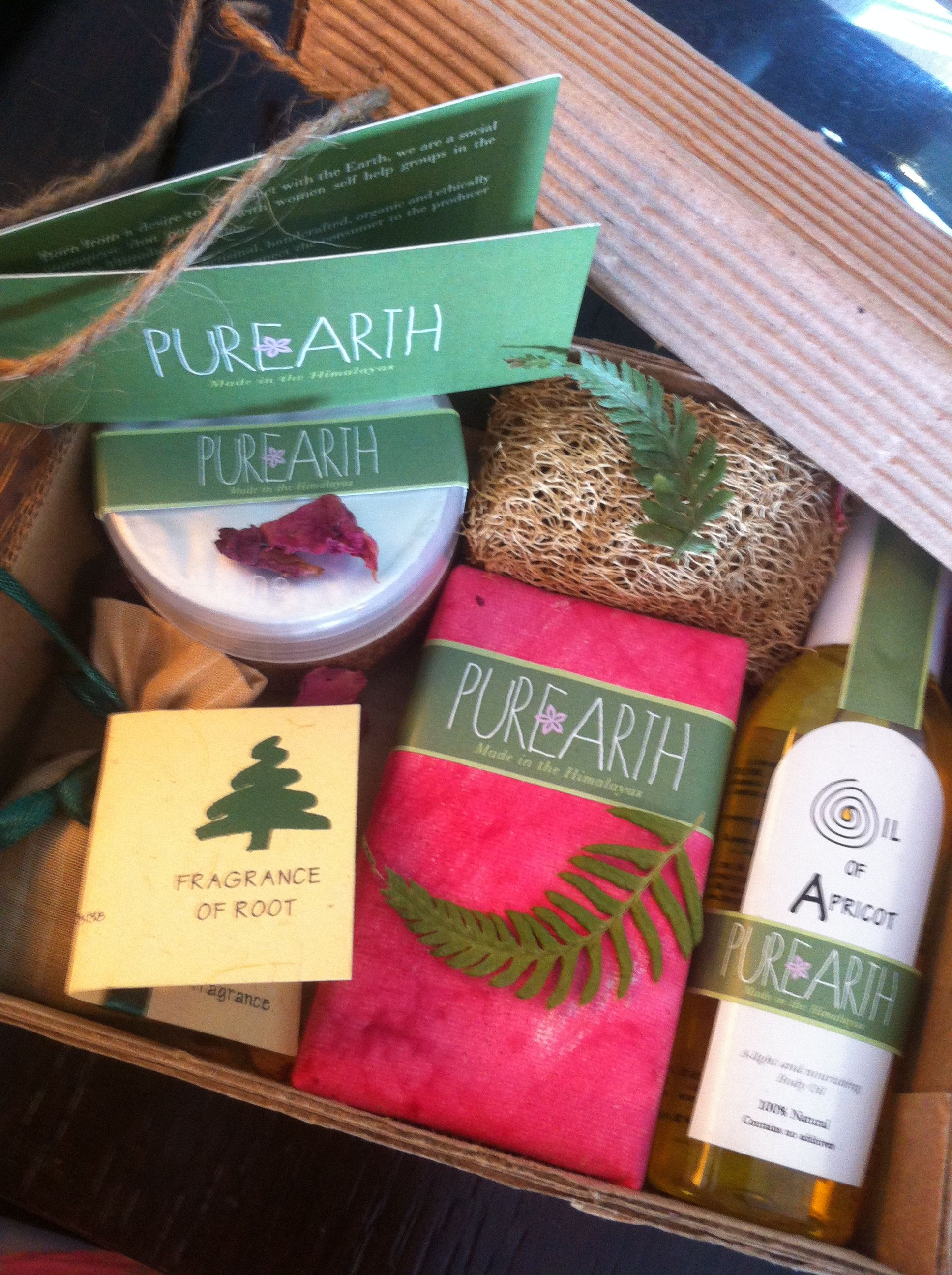 Pure luxe goodie box