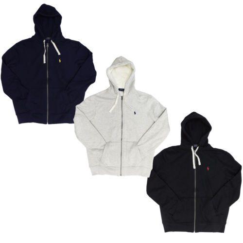 black polo hoodie and sweats
