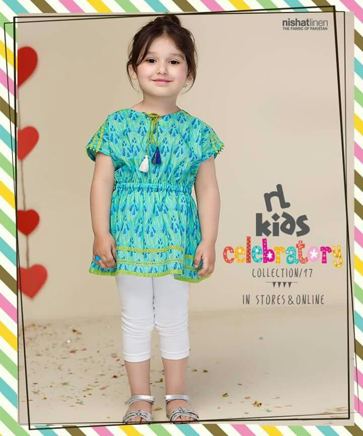 51bf2ff3a0 Nishat linen kids Pakistan | Sewing in 2019 | Kids outfits, Kids ...