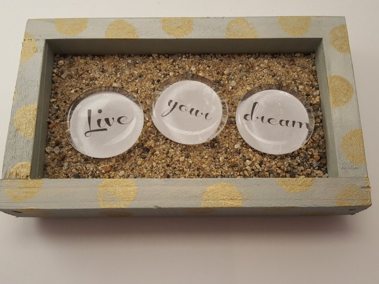 Inspirational Stones - Live Your Dream - Teen Room Girl ...