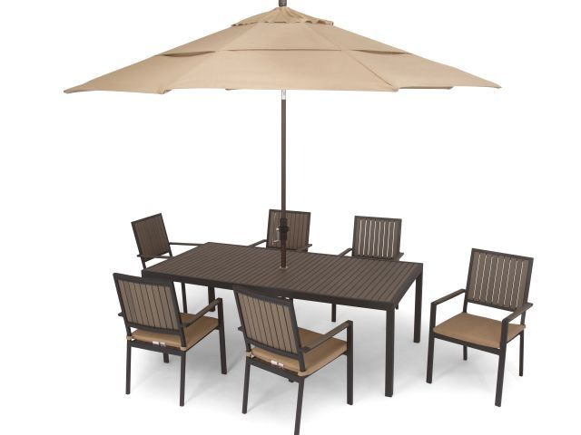Newport 7 Pc Dining Set Fortunoff Backyard Store Cast