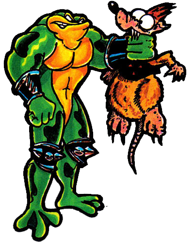 The At Rareltd Battletoads In Action Smashing And Booting Rats From