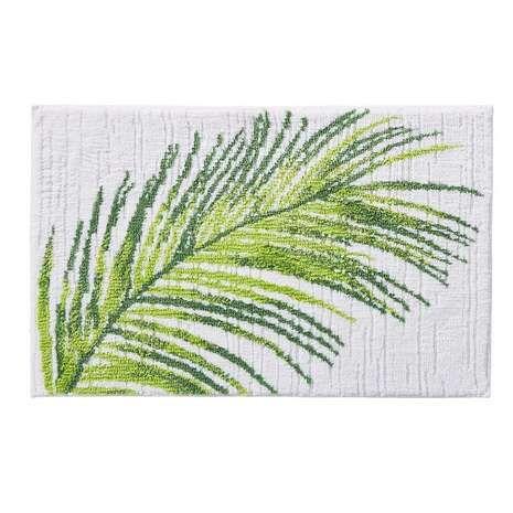 Palm Leaf Bath Mat