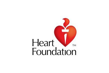 heart foundation Australia Logo design