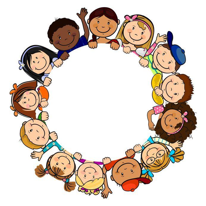Kinder sitzen im kreis clipart  Langues vivantes à l'école - La pratique d'une langue vivante ...