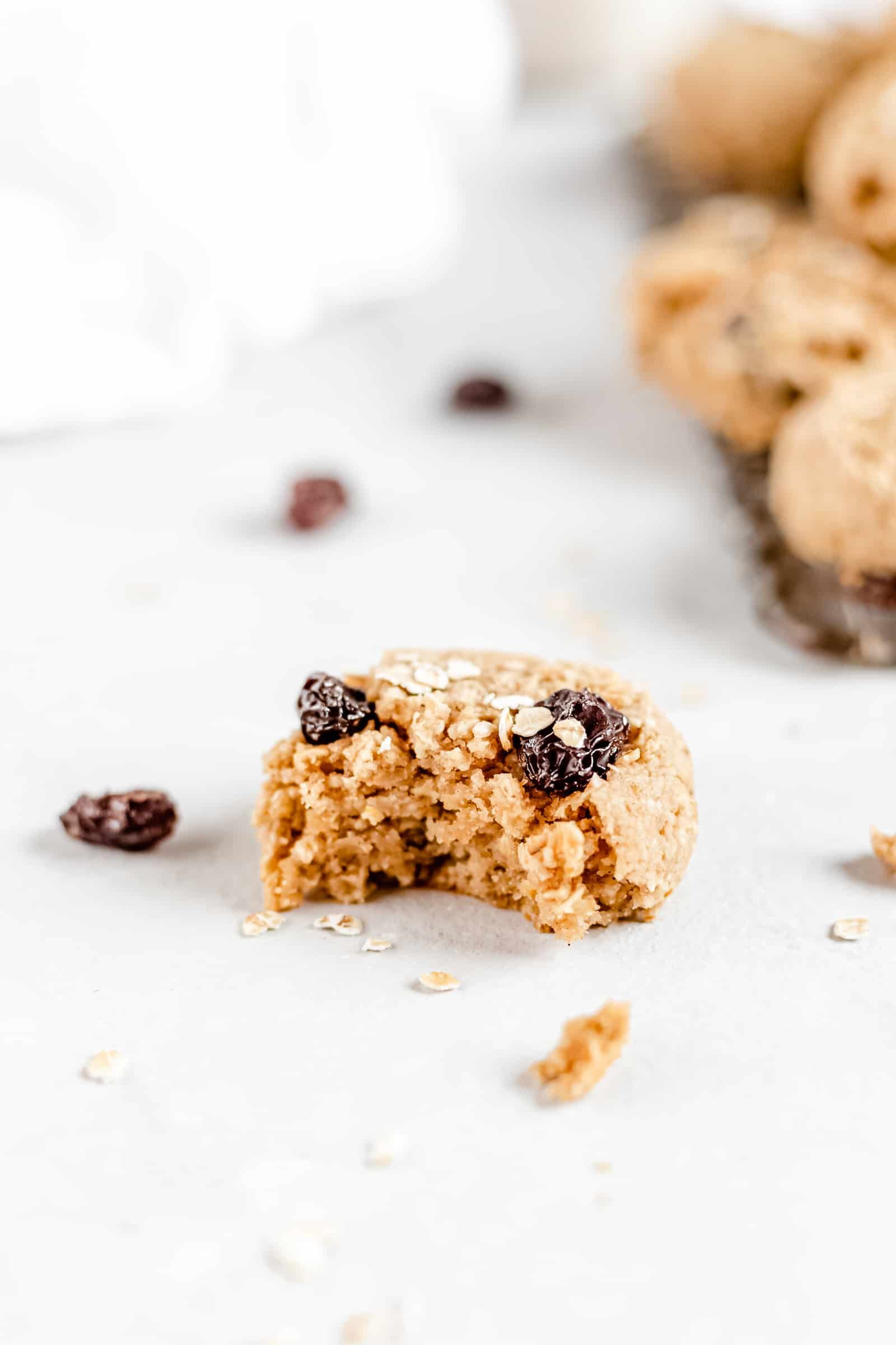 These Healthy Chewy Gluten Free Oatmeal Raisin Cookies are the best ever Theyre incredibly soft chewy and perfectly spiced with a hint of cinnamon