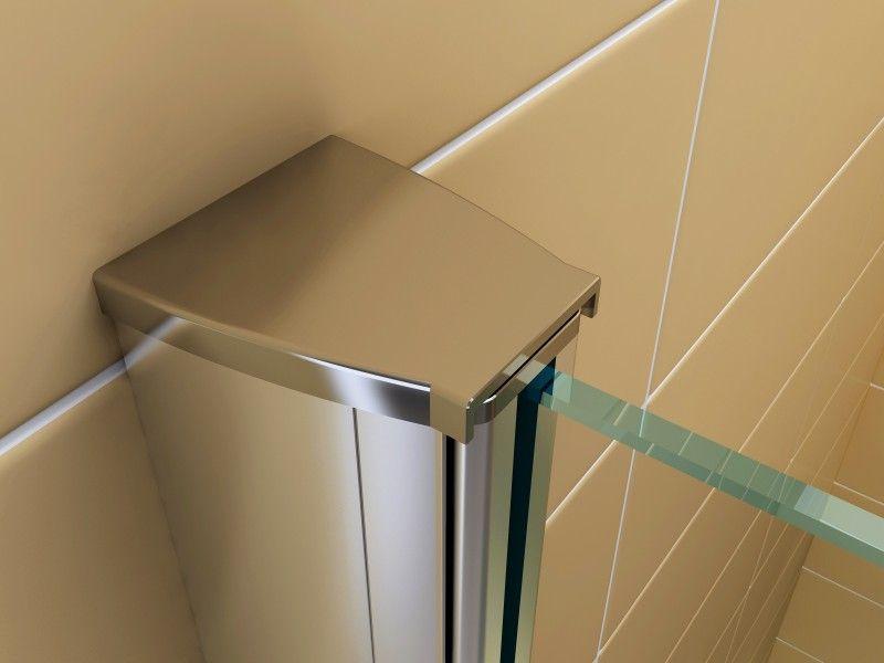 duschabtrennung walk-in nano echtglas ex101 - breite wählbar, Hause ideen