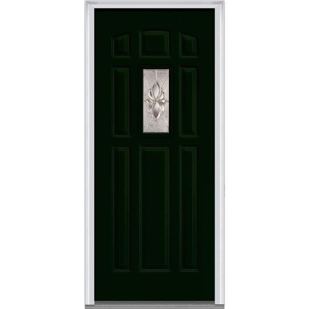 MMI Door 36 in. x 80 in. Heirloom Master Right-Hand Inswing …