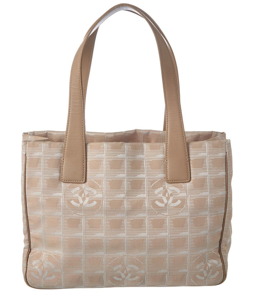 b91c581f84cd CHANEL Chanel Beige Nylon Travel Line Tote Pm. #chanel #bags #shoulder bags  #hand bags #nylon #tote #lining #