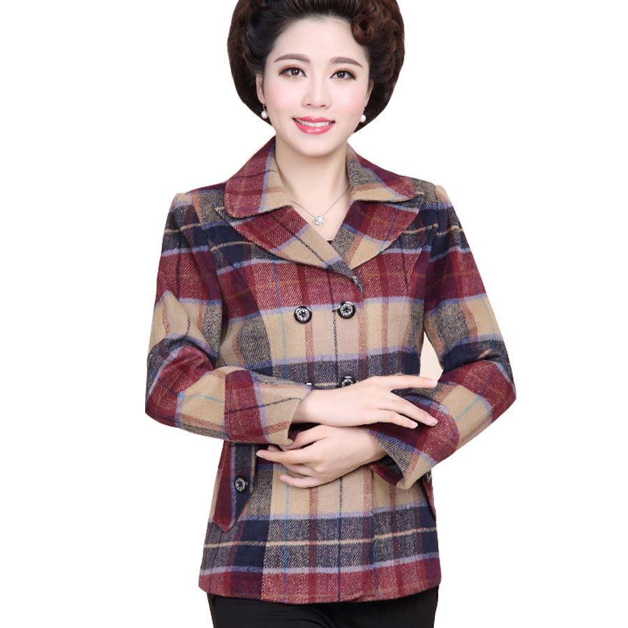 Images of Womens Plaid Jacket - Newyorkfashion