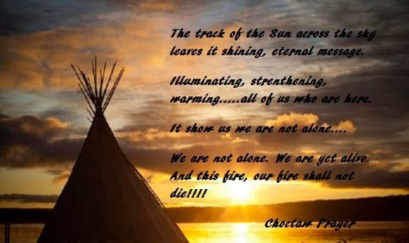 Choctaw Prayer | Native Themed | American indian quotes