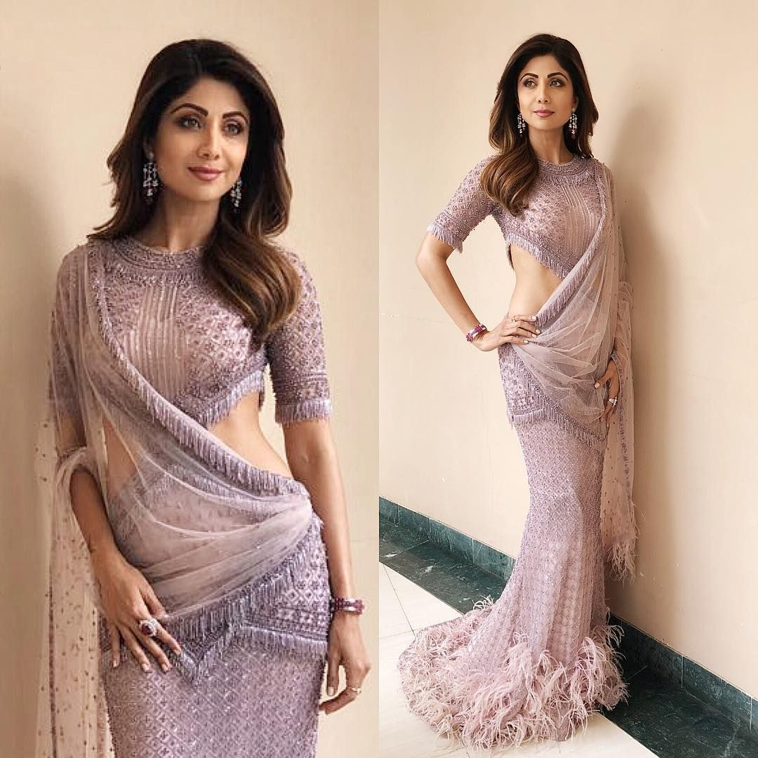 12 Saree Looks Of Shilpa Shetty That Will Surely Leave You Impressed ...