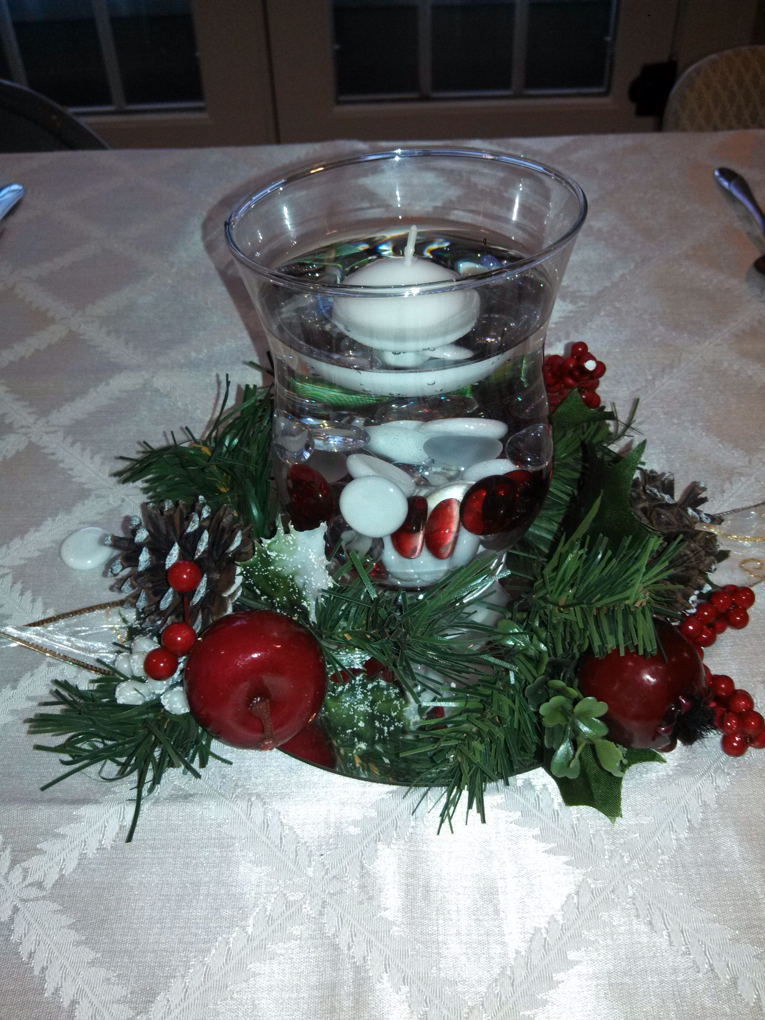 Centerpiece for the holidays Mirror decorations from michaels