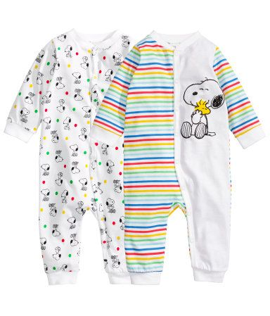 H&M 2 pack pyjamas 14 95 € Adoro o Snoopy Na wishlist