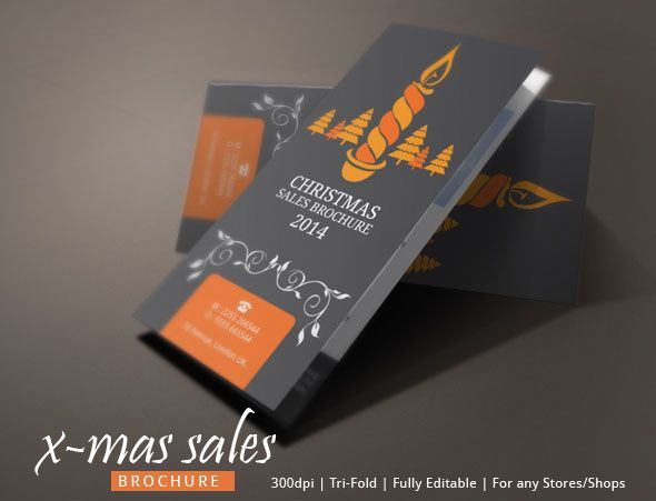 Christmas Sales Brochure Design On Behance Christmas Brochure - Sales brochure template