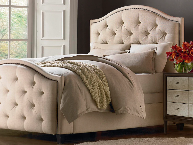 Our Custom Upholstered Beds Headboards Bring Cool Relaxing