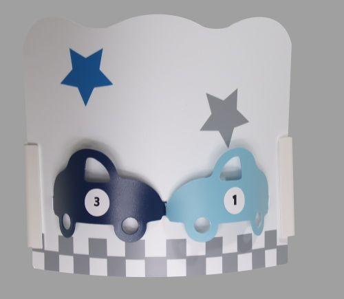 Applique chambre garçon - auto gris bleu | Enfant | Pinterest | Room