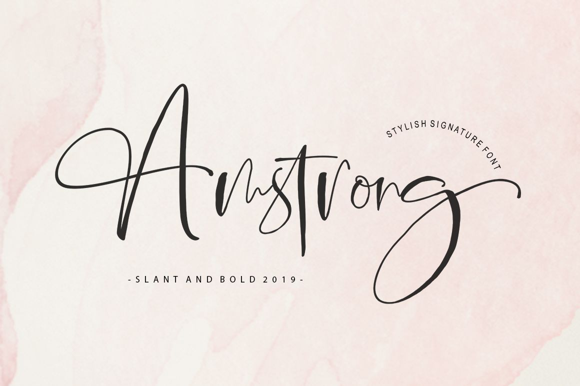 Download Amstrong Signature Script in 2020 (With images)   Best ...