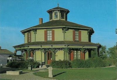 Octagon House Plans | The above example is the Hyde Octagon ... on
