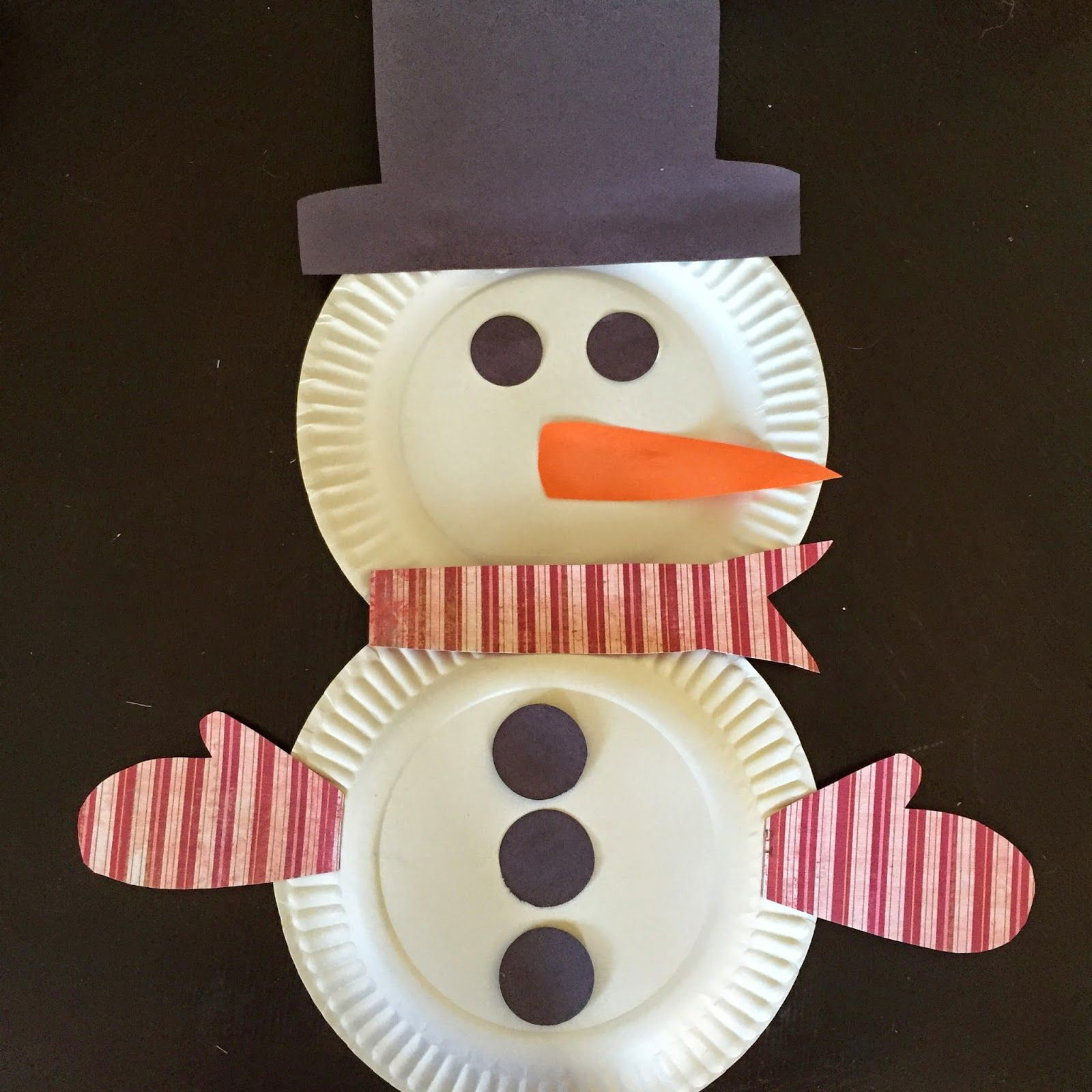15 childrens holiday crafts snowman holidays and craft paper plate snowman childrens craft click or visit fabeveryday to see the collection jeuxipadfo Gallery