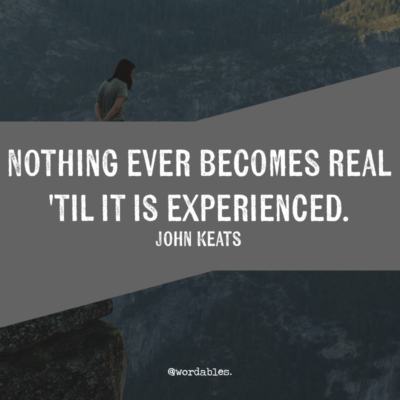 Robert keats quotes