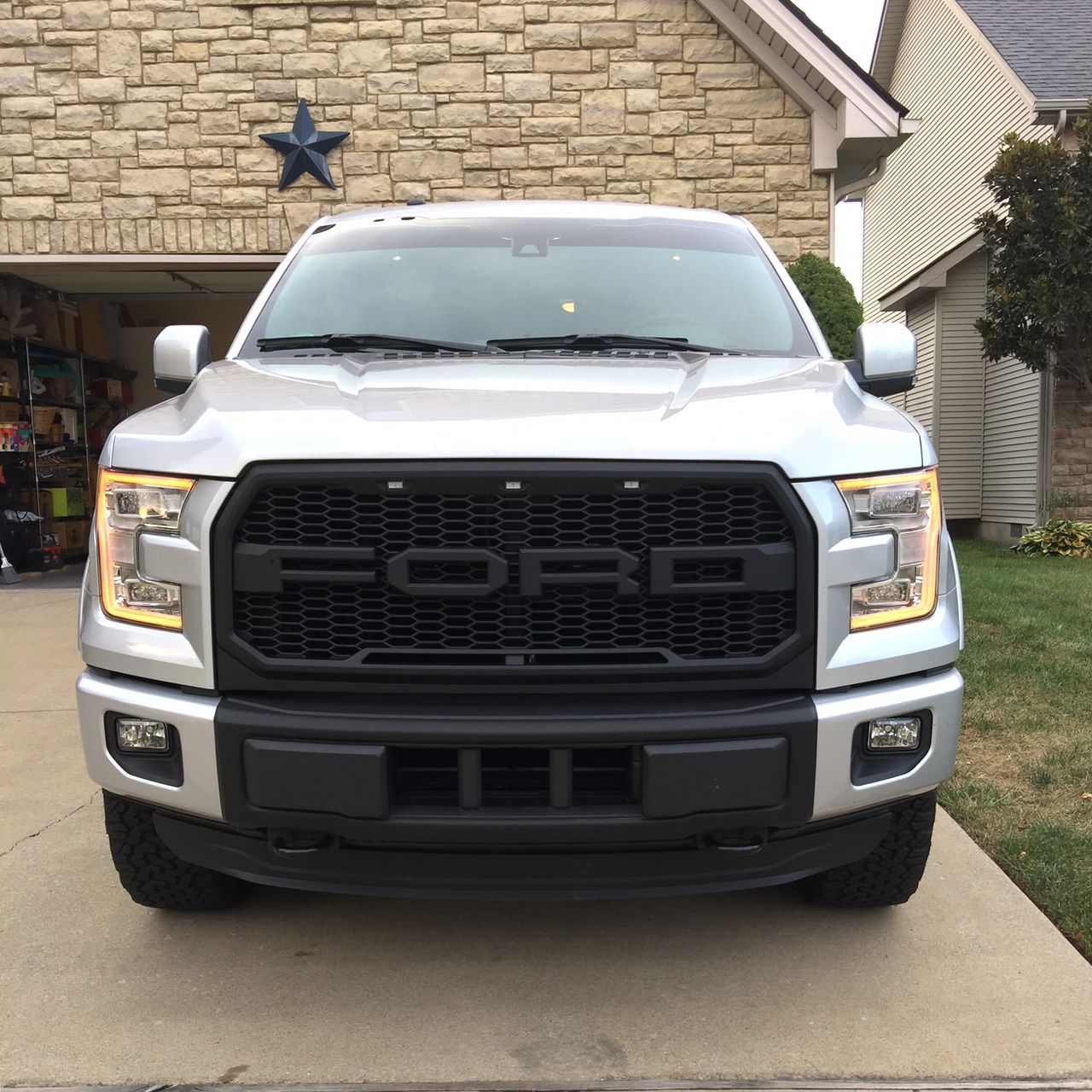 Grill options raptor style grill page 124 ford f150 forum community of ford truck fans
