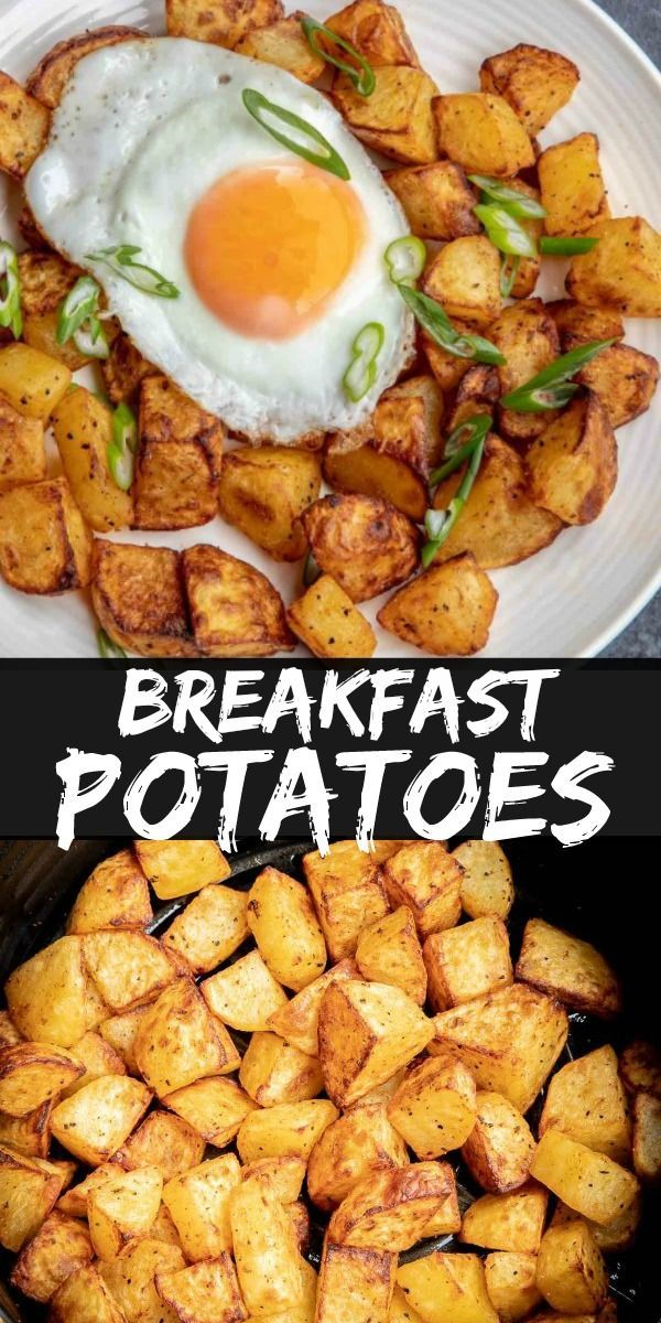 Photo of #Air #Breakfast #Fryer #Healthy Recipes Air Fryer #Potatoes Breakfast Potatoes m…