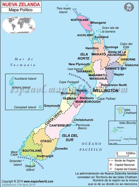 Donde Esta Nueva Zelanda Mapa Mundi.Nueva Zelanda Mapa Mapa De Nueva Zelanda En 2019 Nueva