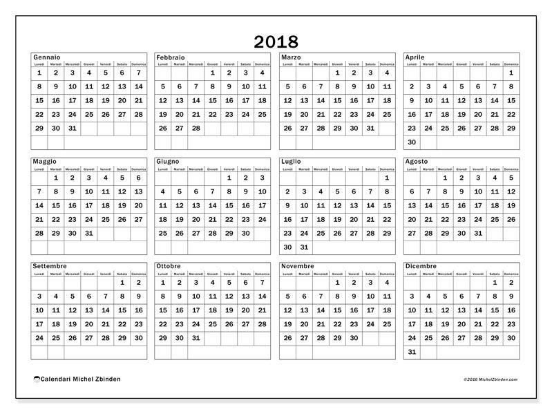 Calendario 2018 Quot Romulus Quot Da Michel Zbinden Svizzera