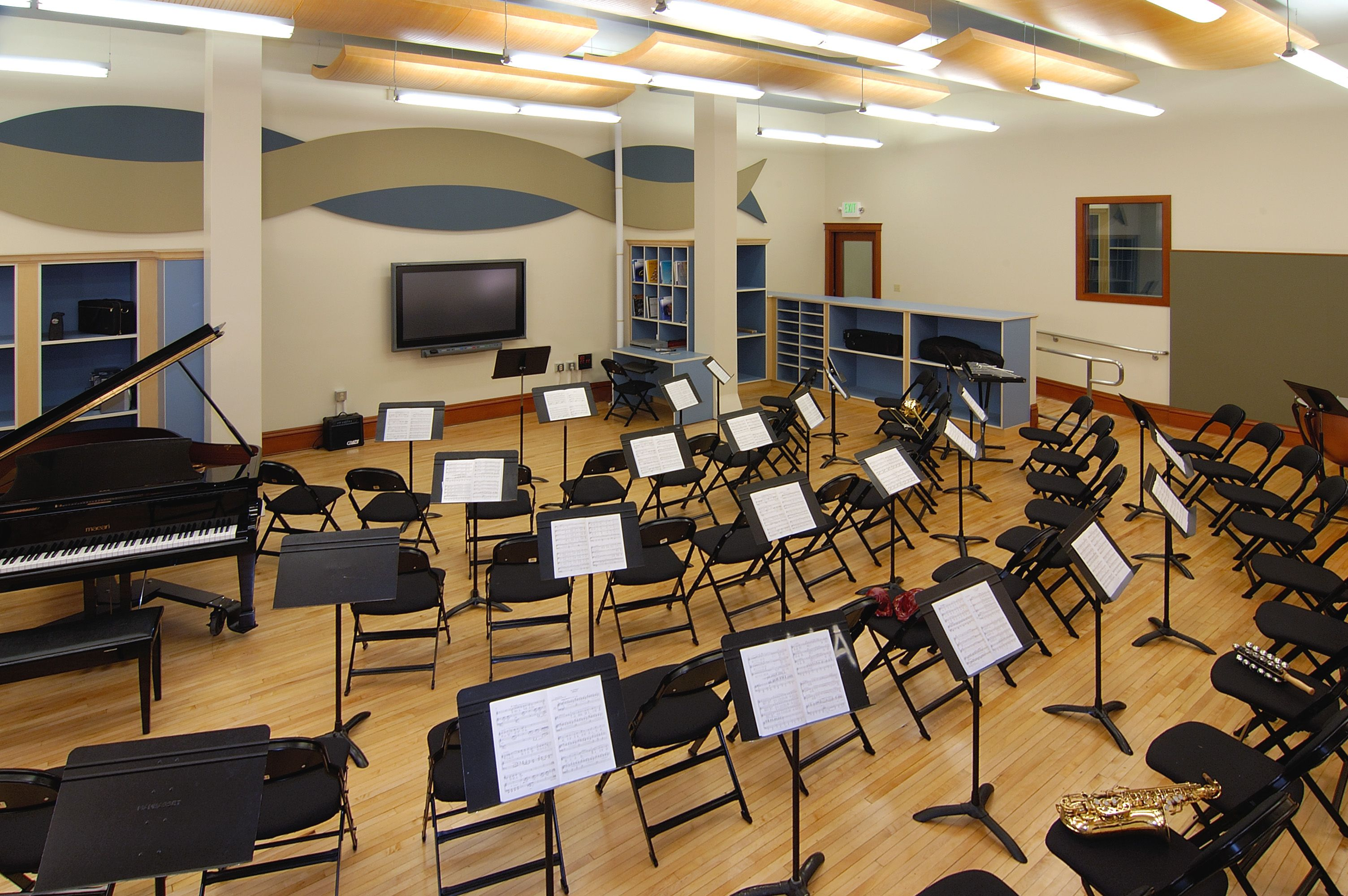 band room design
