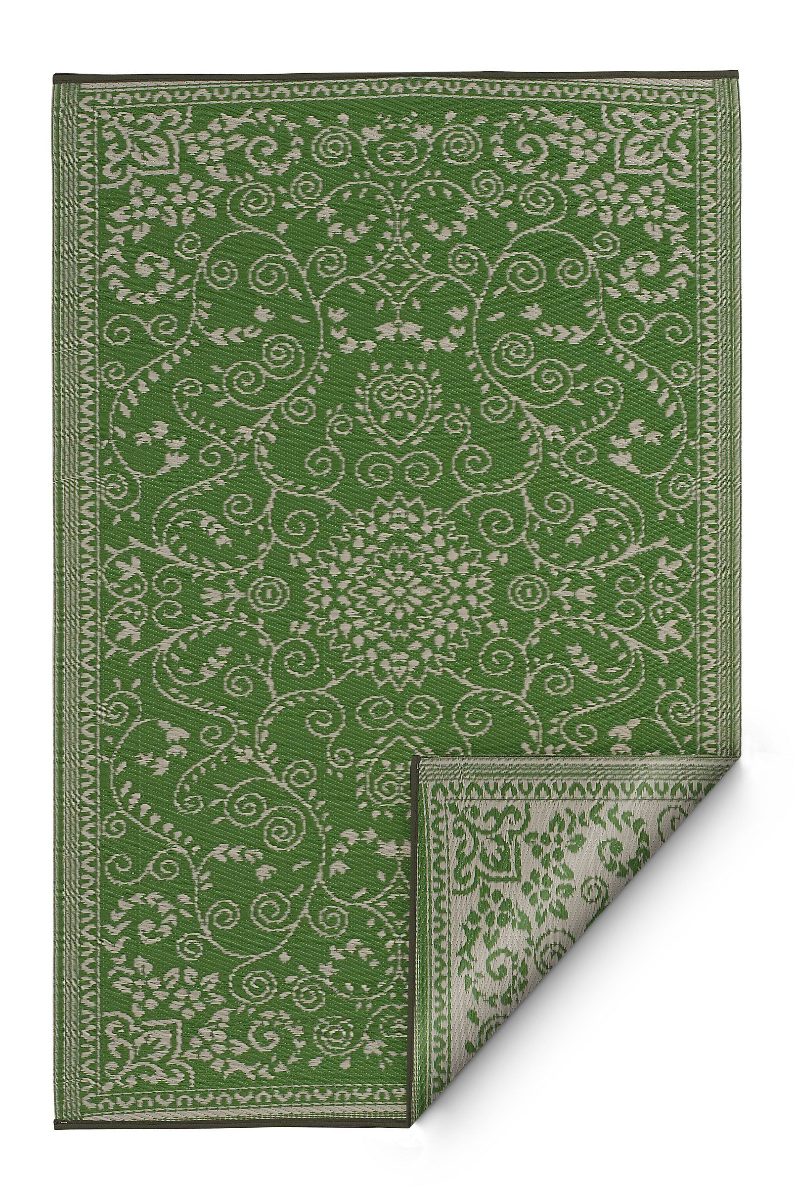 Fab Habitat Murano Recycled Plastic Rug Lime Green And Cream 8 X 10 Check Out This Great Product Is An Affiliate Link