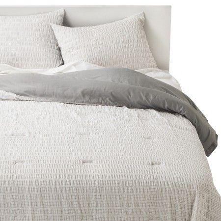 Room Essentials™ Printed \u0027X\u0027 Seersucker Comforter Set - $3599