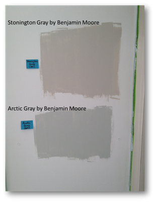 Stonington Gray By Benjamin Moore And Arctic Gray By Benjamin Moore Paint Shown Is Behr Paint Color Picking Paint Colors Paint Colors Best Gray Paint Color