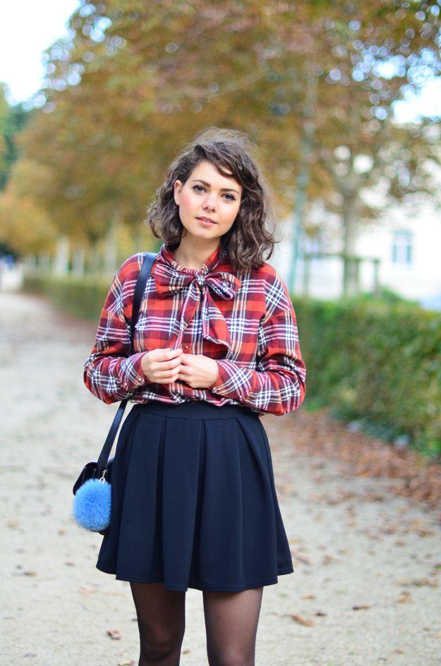 tartan d 39 automne fashion style pinterest automne juliette et rennes. Black Bedroom Furniture Sets. Home Design Ideas