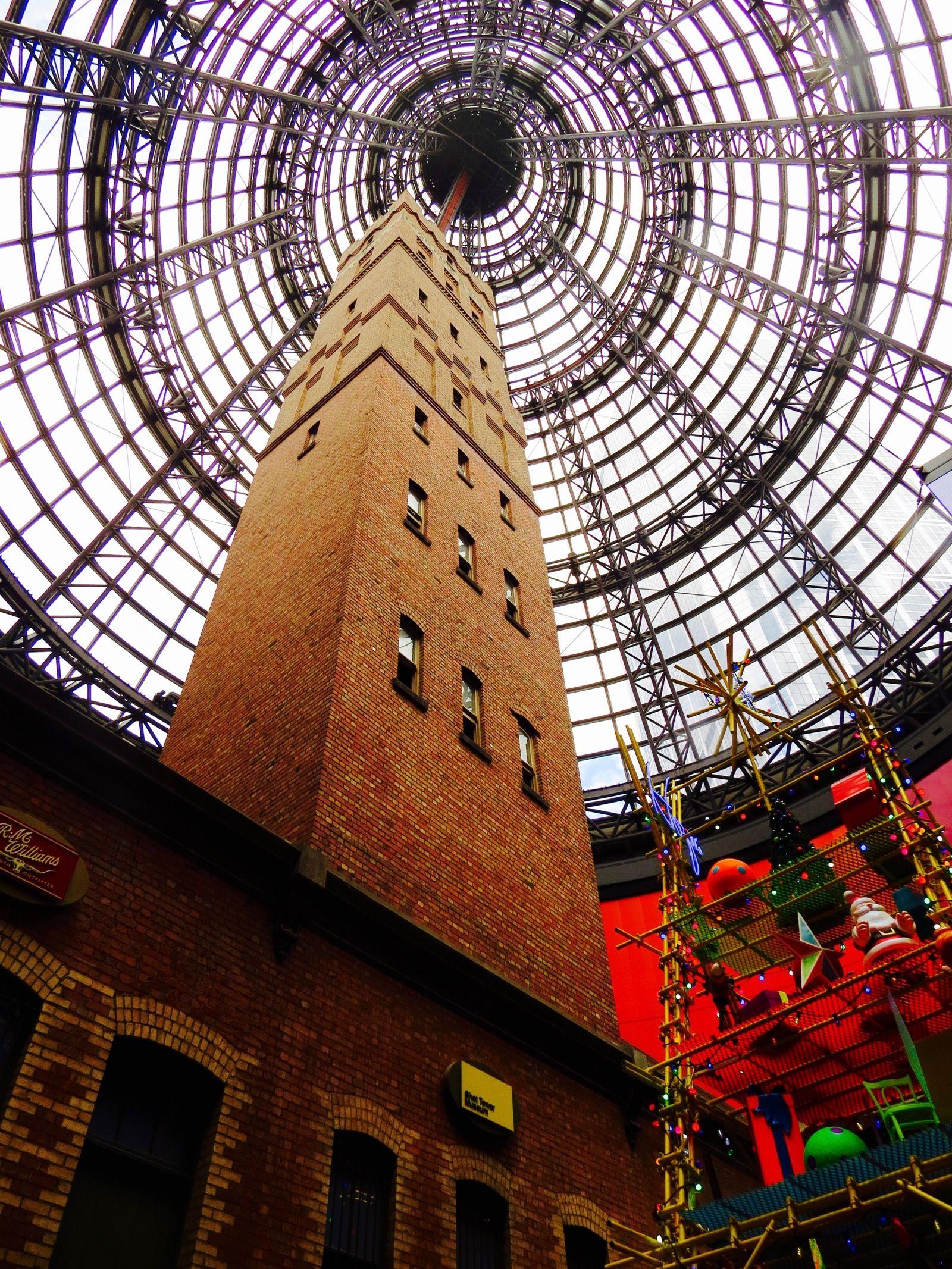 Melbourne Central at Christmas Time, Australia Melbourne