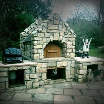 McCormick Oven by BrickWood Ovens - traditional - landscape - dallas - BrickWood Ovens