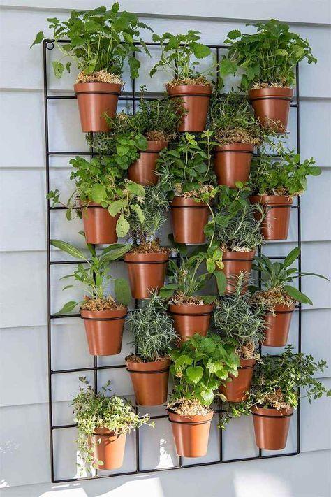 Construire et cr er soi m me un jardin vertical avec des - Comment faire un jardin vertical ...