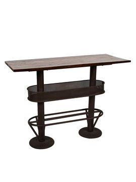 Industrial III Bar Table from Californian Ranch on Gilt