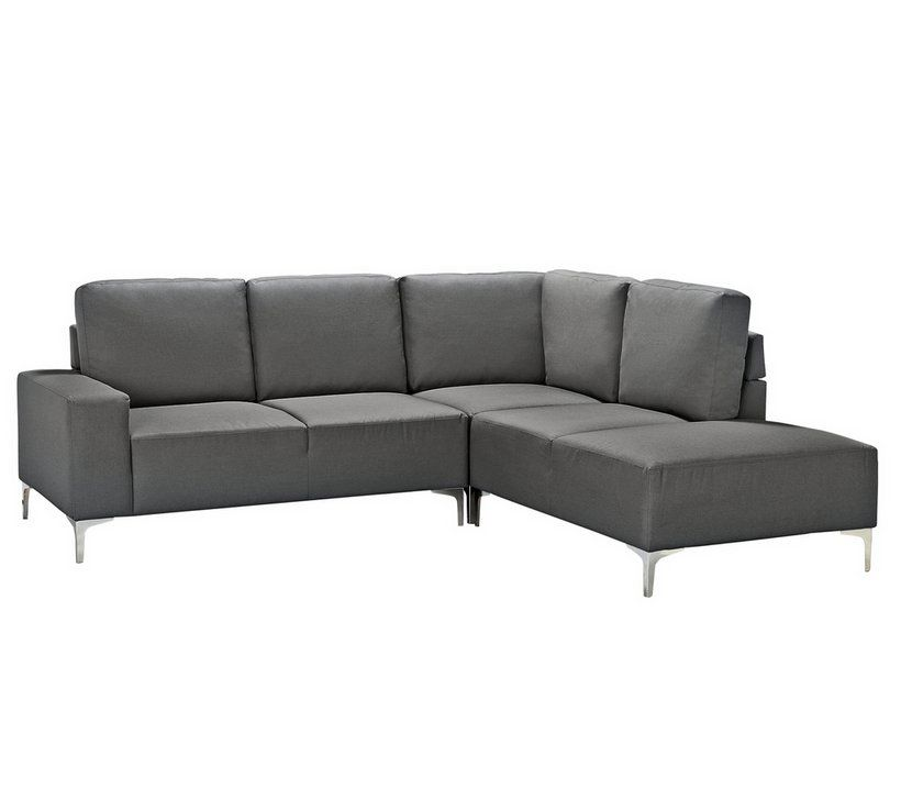 Home Hale Right Corner Fabric Sofa - Charcoal in 2019 ...