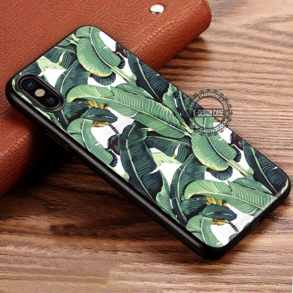 Beverly Hills Hotel Martinique Wallpaper Banana Leaf IPhone X 8 7 Plus 6s Cases Samsung Galaxy