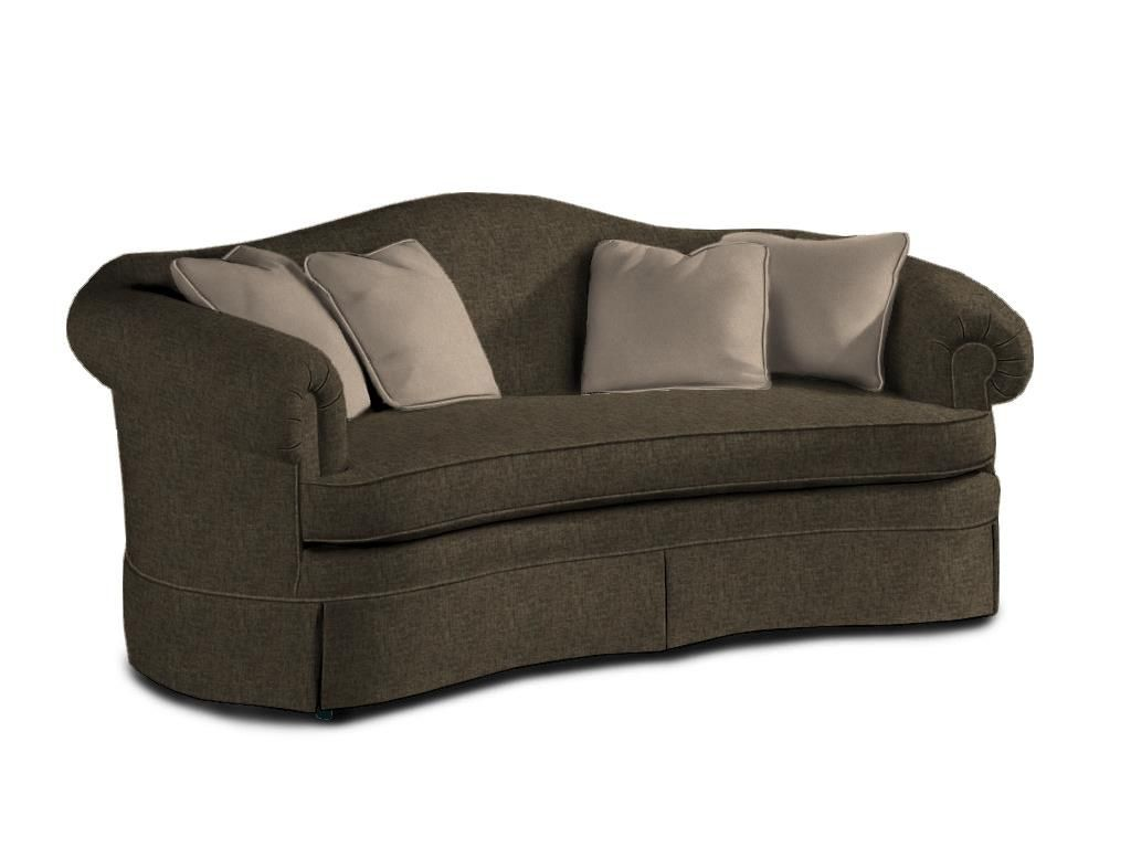 Sherrill Living Room Camel Back One Cushion Sofa 1941   Stacy Furniture    Grapevine, Allen
